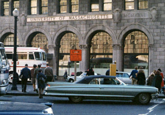 UMassBostonArlingtonStreet1965